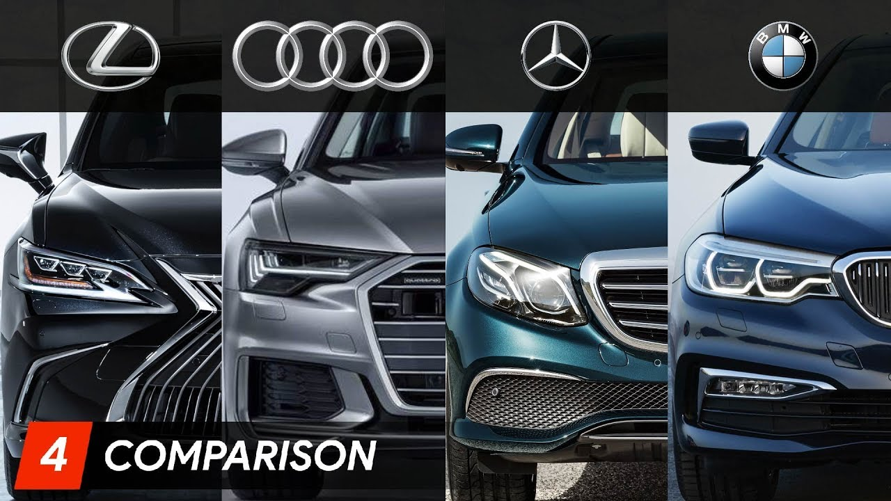2019 Lexus Es Vs Mercedes E Class Vs Audi A6 Vs Bmw 5 Series Youtube