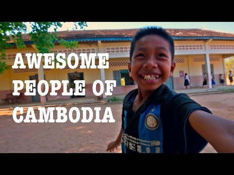 Awesome People Of Cambodia