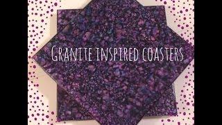 Diy Granite Inspired Coasters