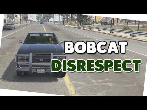 BOBCAT DISRESPECT 🍟 Wallride + Download 🍟 GTA V Custom Map #521