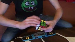 Most awesome rubiks cube solve ever. Period.