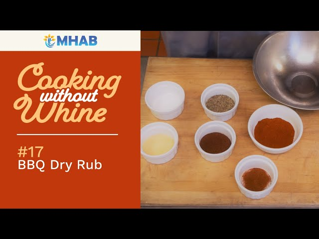 Cooking without Whine: Trevor's BBQ Dry Rub Recipe