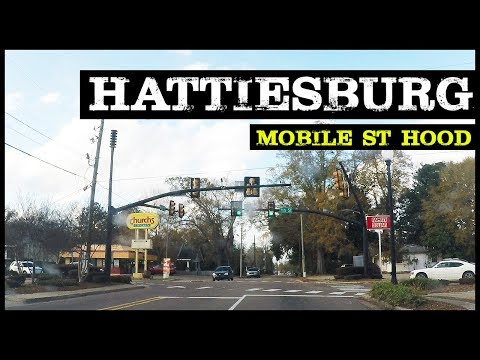 GHETTO HATTIESBURG MISSISSIPPI MOBILE ST. HOODS & PROJECTS