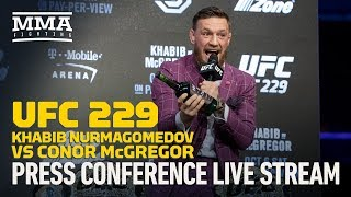 UFC 229: Khabib Nurmagomedov vs. Conor McGregor New York Press Conference Live Stream - MMA Fighting