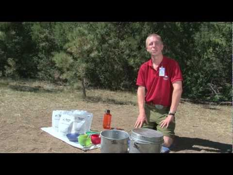 Philmont Backcountry Cooking Method