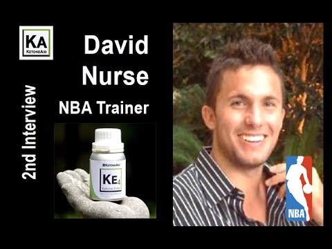 NBA Shooting Coach David Nurse post 3 hr Basketball Workout with Ketone Ester. (Interview #2)