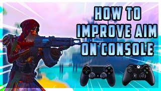 Fortnite BR Saison 8 COMMENT À IMPROVE AIM ON CONSOLE PS4/XBOX ACCURACY TIPS!