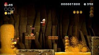達人的なファイアボールさばきを駆使すれば暗闇の洞窟でもノンストップで駆け抜けることができる!サンボの頭に確実にファイアボールを当て...