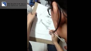 Lớp Dạy vẽ AG - HD vẽ tượng thi ĐH Kiến Trúc 2007 part 4 - luyện thi khối V-H ( 01689 555 205 )
