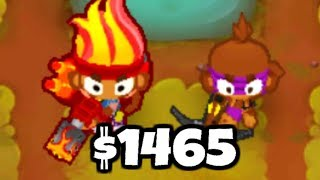 NEW World Record! The Cheapest Strategy To Beat Deflation Mode (Bloons TD 6)
