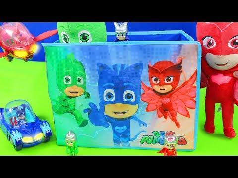 Neu PJ Masks Aktion Figure Catboy Owlette GLIDER Gekko Spielzeugautos Auto Toys