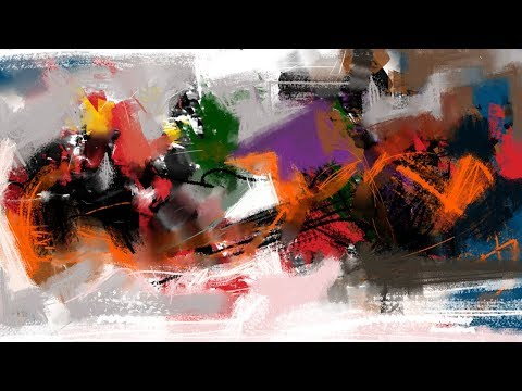 PAINTING #28 | Abstract painting | digital painting | painting tutorial for beginner