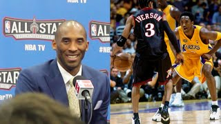 Kobe Bryant Says Allen Iverson Pushed Him To Be Great + Talks Shaq