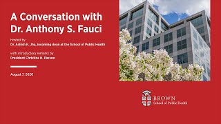 A Conversation with Dr. Anthony S. Fauci