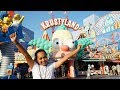 TIANA'S SURPRISE!! Universal Studios Theme Park Family Fun