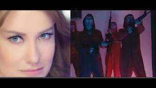 Ünlü Şarkıcı Hilal Cebeci, Çav Bella Klibiyle Tartışma Yarattı
