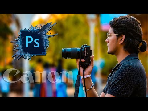 Photoshop Tutorial |CC 2019 | Camera Raw Filter | How to edit photo with Photoshop /Create fake blur thumbnail