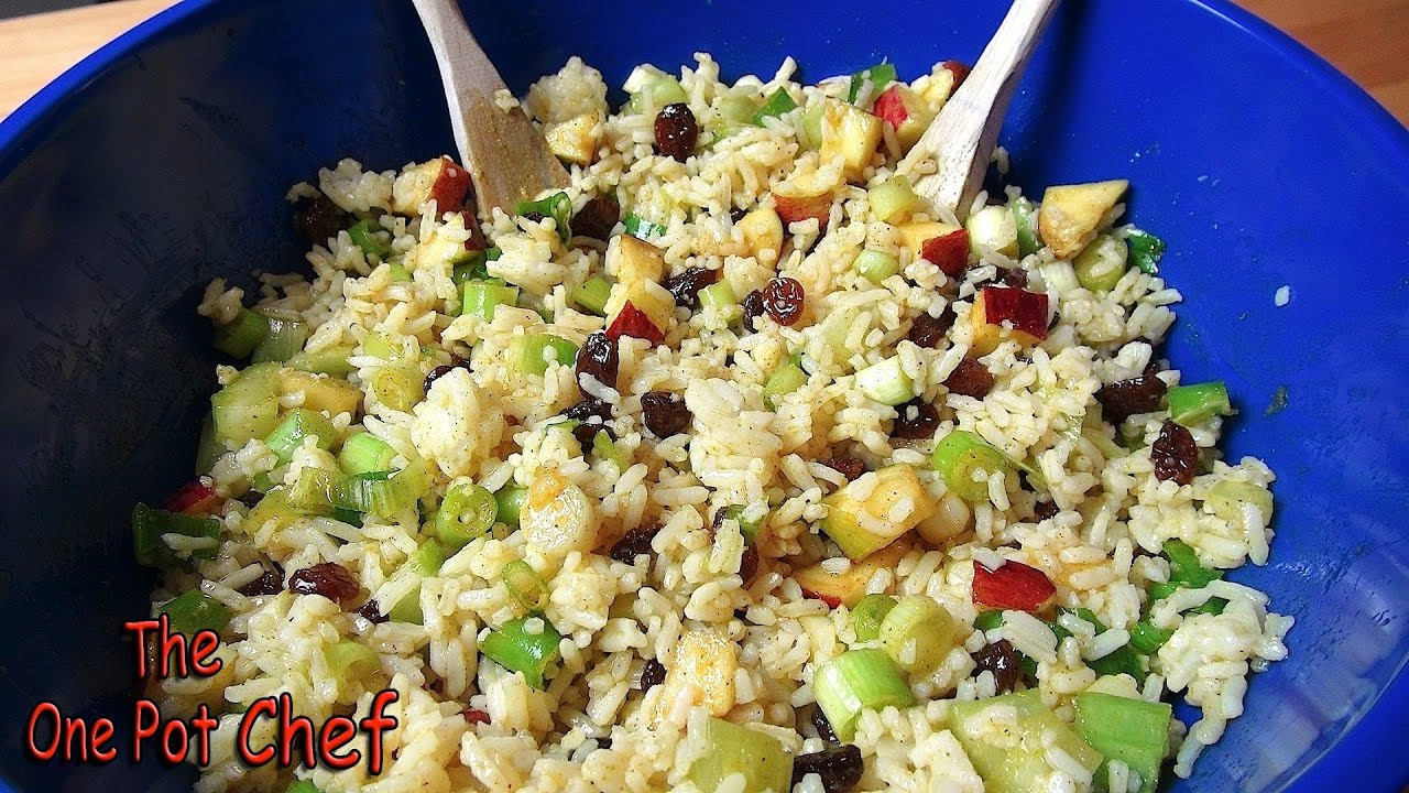 Curried Rice Salad | One Pot Chef - YouTube