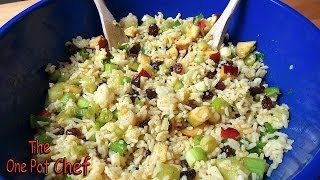 Curried Rice Salad | One Pot Chef