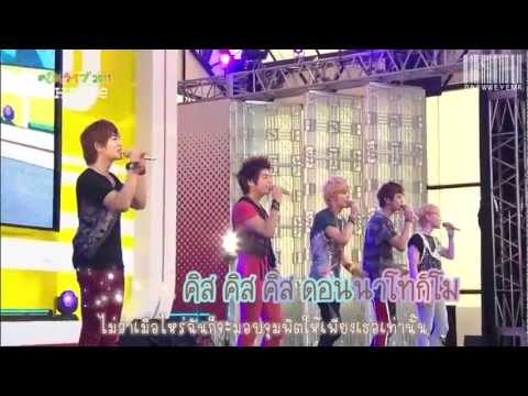 [Karaoke-Thaisub]: SHINee - Kiss Kiss Kiss (live)