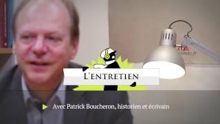 ENTRETIEN Patrick Boucheron / Yann Potin