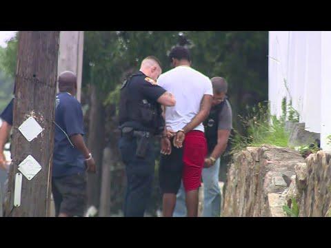 Video shows suspect