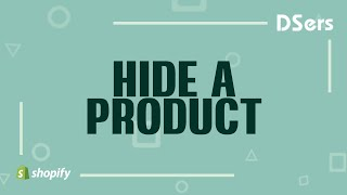 How to hide a product - DSers Pro Dropshipping
