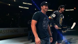 Golden Knights take ice with off-ice heroes in Vegas