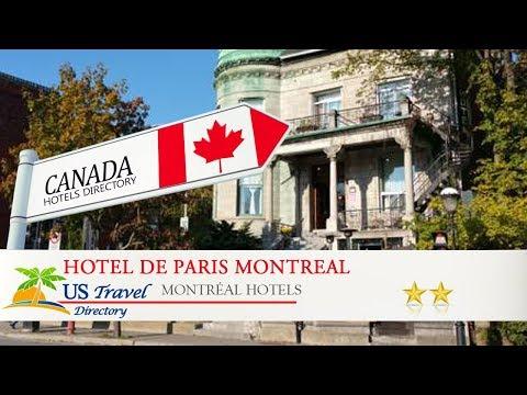Hotel De Paris Montreal - Montréal Hotels, Canada