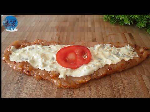 tavuk fileto sarma, çok kolay, lezzetli, doyurucu