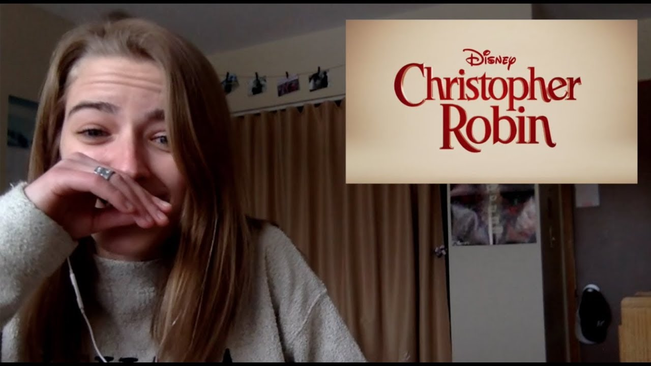 Christopher Robin -  Trailer REACTION!