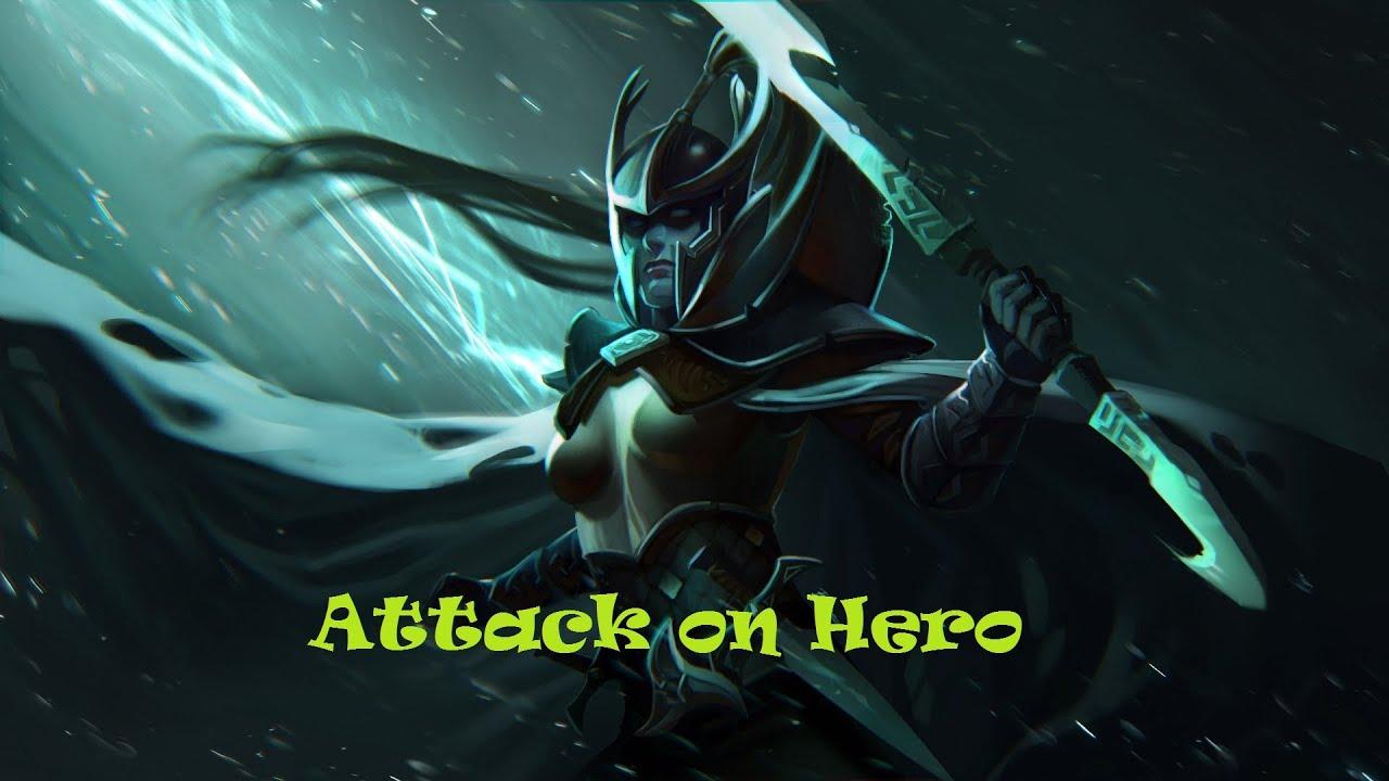 dota 2 attack on hero phantom assassin round 35 youtube