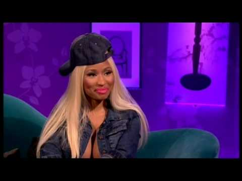 Nicki Minaj Boobs out of her bra hot cleavage : Alan Carr 2 Nov 2012 from YouTube · Duration:  1 minutes 6 seconds