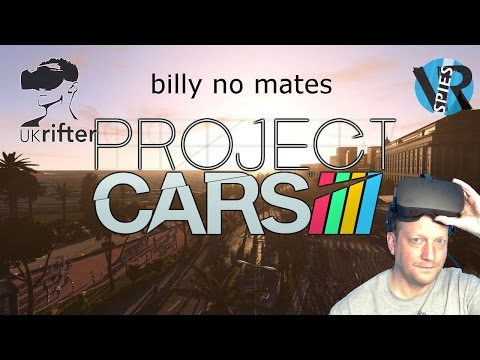 Project Cars - a lonely drive to nowhere - Oculus Rift CV1 VR Review by UKRifter