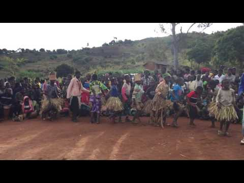 Traditional dance in Malawi 2016