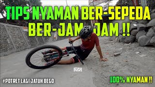 Tips mengurangi rasa kesemutan dan baal ketika bersepeda..