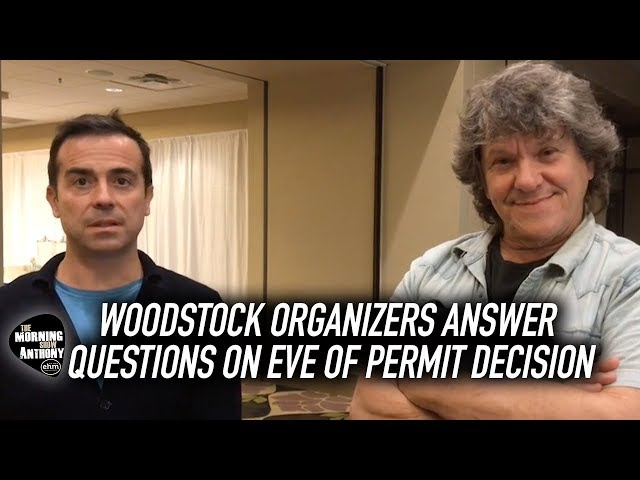 Woodstock 50 Organizers Answer Questions On Eve Of Permit Decision