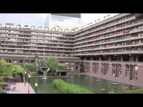 A Walk Through the City of London from Barbican to London Bridge, England - 14th June, 2014