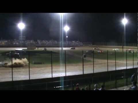 Lake Ozark Speedway-Pro Crate Late Model Feature-July 17, 2010
