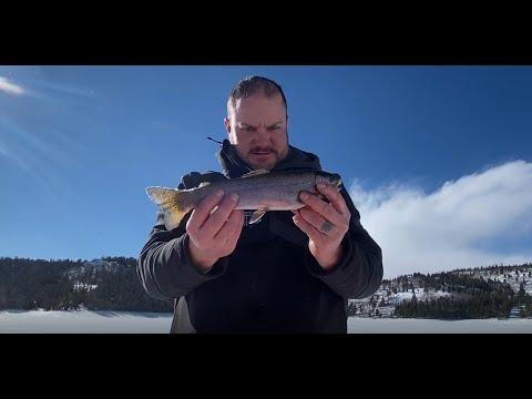 South Pass Wyoming High mountain Ice fishing