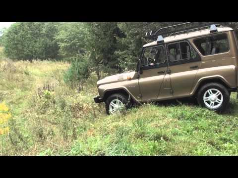 Test-drive UAZ Hunter. 30th World Logging Championship.2012
