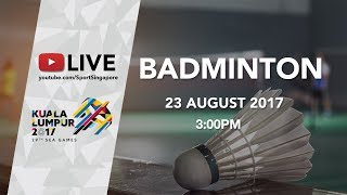 Badminton Mens Team Semi-finals | 29th SEA Games 2017