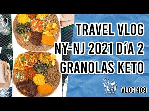 ✈️ TRAVEL VLOG NEW YORK - NEW JERSEY 2021 DIA 2   REVIEW GRANOLAS PERFECT KETO   Manu Echeverri