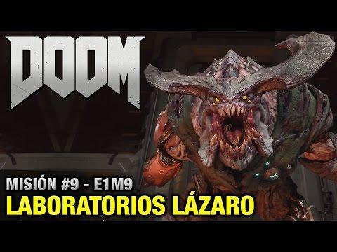 DOOM (2016) - Misión #9 - Laboratorios Lázaro (Coleccionables + Secretos - Español 1080p 60fps)