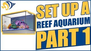 How To Set Up A Reef Aquarium, Part 1: Innovative Marine Mini Nuvo Aquarium Unboxing And Assembly