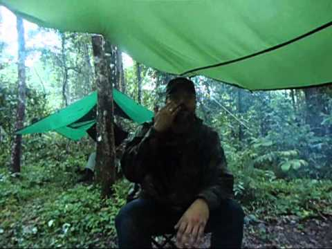 Rain Camp in the Jungle and New Tarp Review