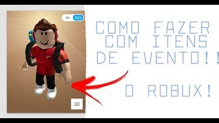 Roblox → 😱 How to leave your character TOP!! 🎮 (So with EVENT ITEMS)