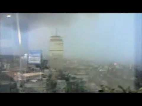 Lightning Strikes Prudential Tower