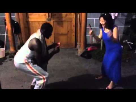 Gettin' down in China with a Ghanaian tune