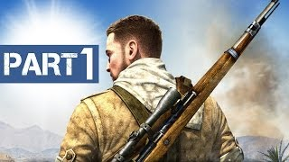 sniper elite 3 gameplay walkthrough part 1 introduction prologue ps4